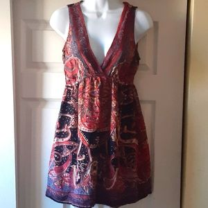 Angie Boho mini dress